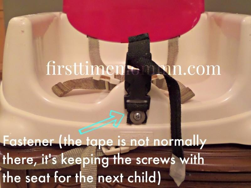 Childproofing a barstool. First Time Mom