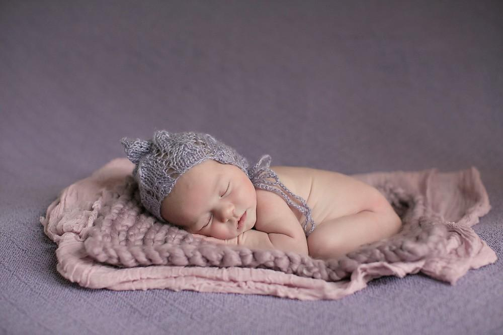 Photography by Nealy Newborn purple