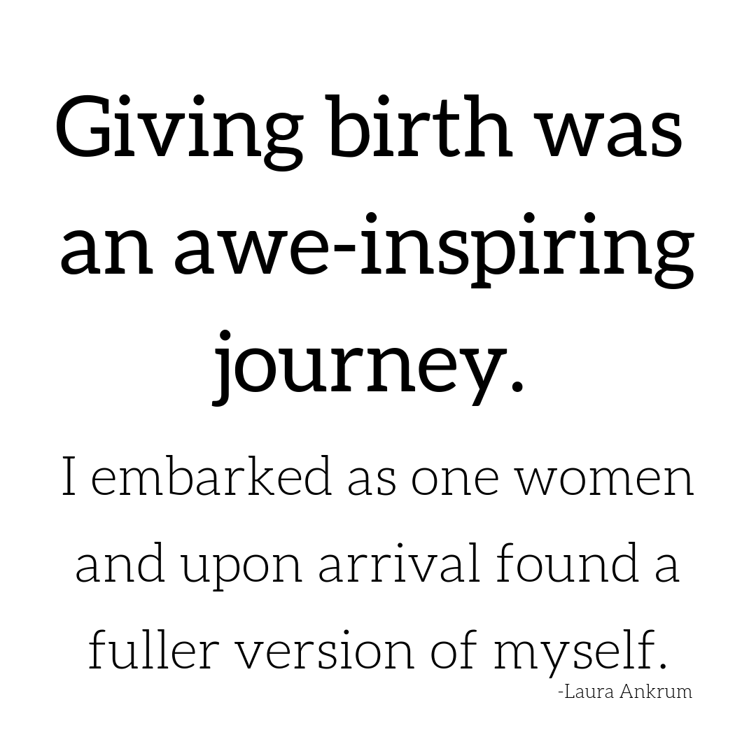 giving birth quotes