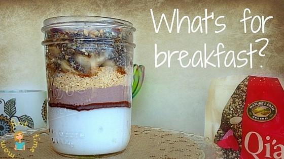 Quick Breakfast Ideas for Busy Moms