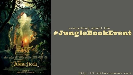 Everything about the #JungleBookEvent