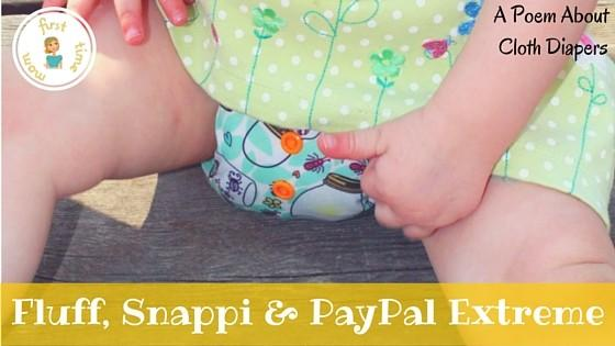 Fluff, Snappi & PayPal Extreme: A Poem About Cloth Diapers