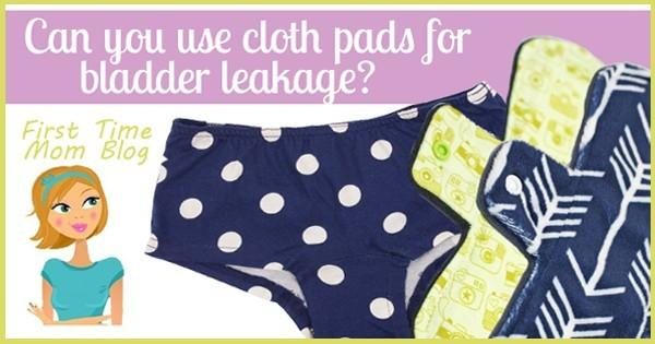 Can you use cloth menstrual pads for bladder leakage?