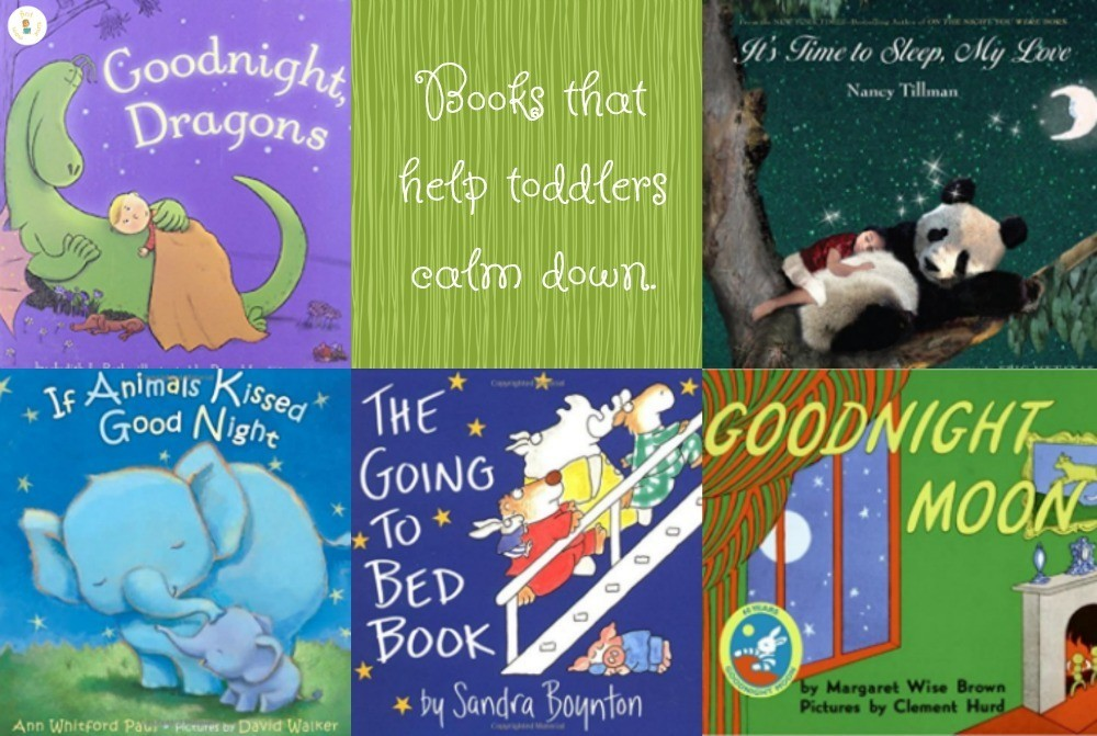 Books that help toddlers calm down