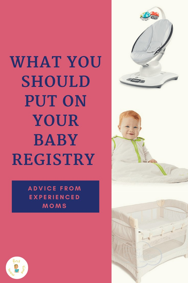 What you should put on your baby registry - Advice from experienced moms