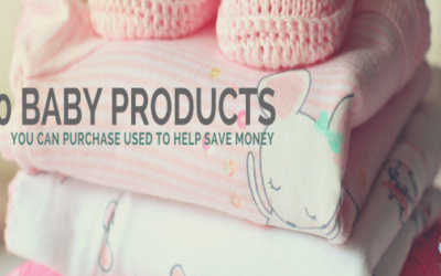 10 Baby Products You Can Purchase Used to Help Save Money