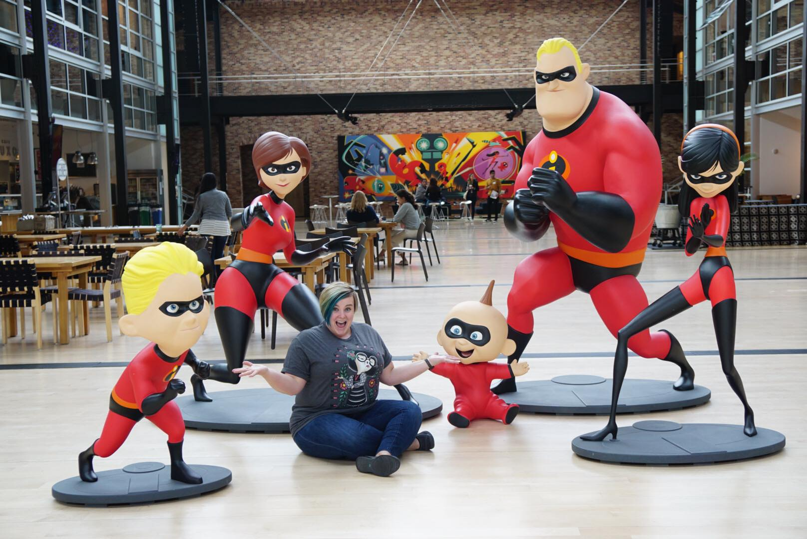 Pixar Statues at Pixar Animation Studios