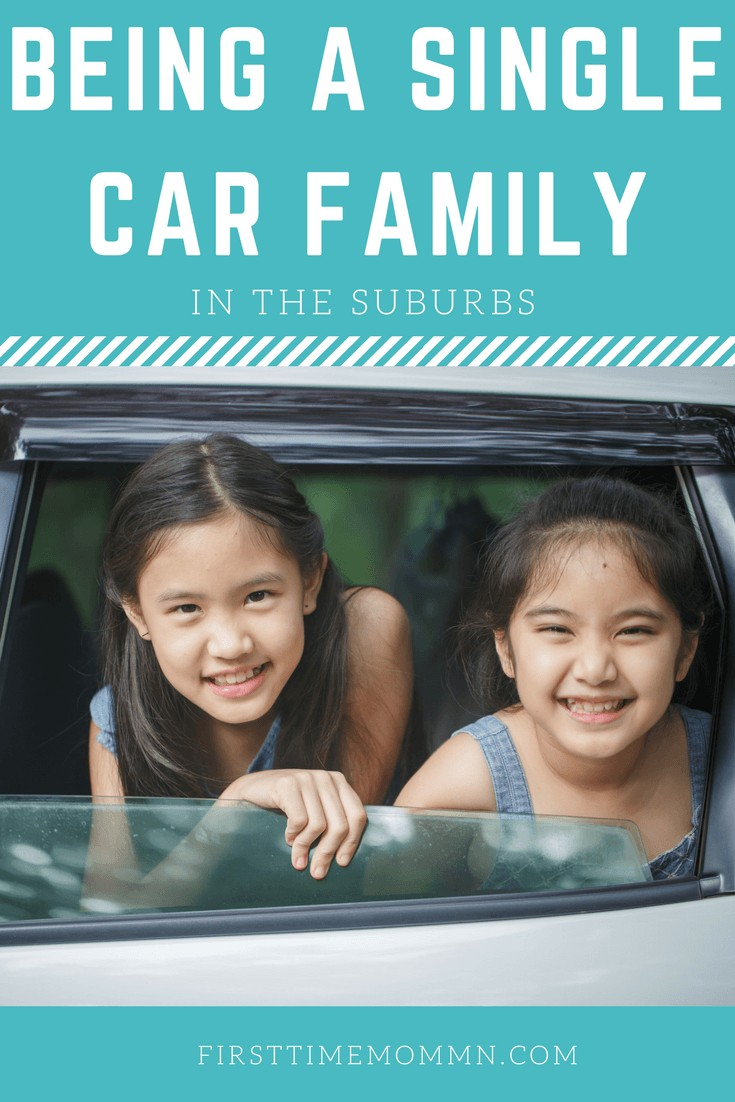 How to be a single car family and live in the suburbs? Save money, save the environment with these tips and tricks on how your family can do life with only one car.