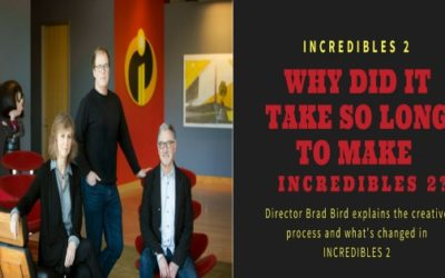 Why did it take so long to make INCREDIBLES 2? Director Brad Bird explains the creative process and what's changed in INCREDIBLES 2