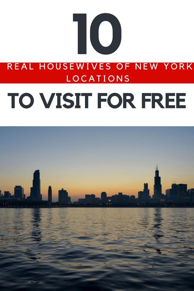 10 Real Housewives of New York Locations to Visit for Free. Self-guided tour plus resources in case you want to pay someone to show you around.