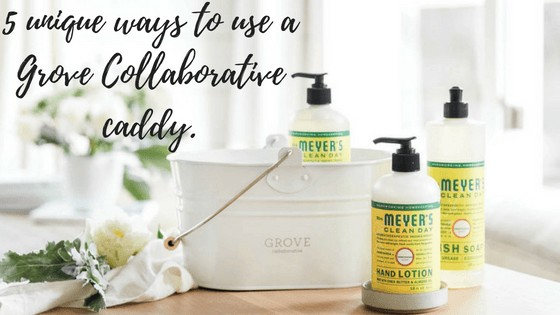 5 Creative Ways to Use a Cleaning Caddy