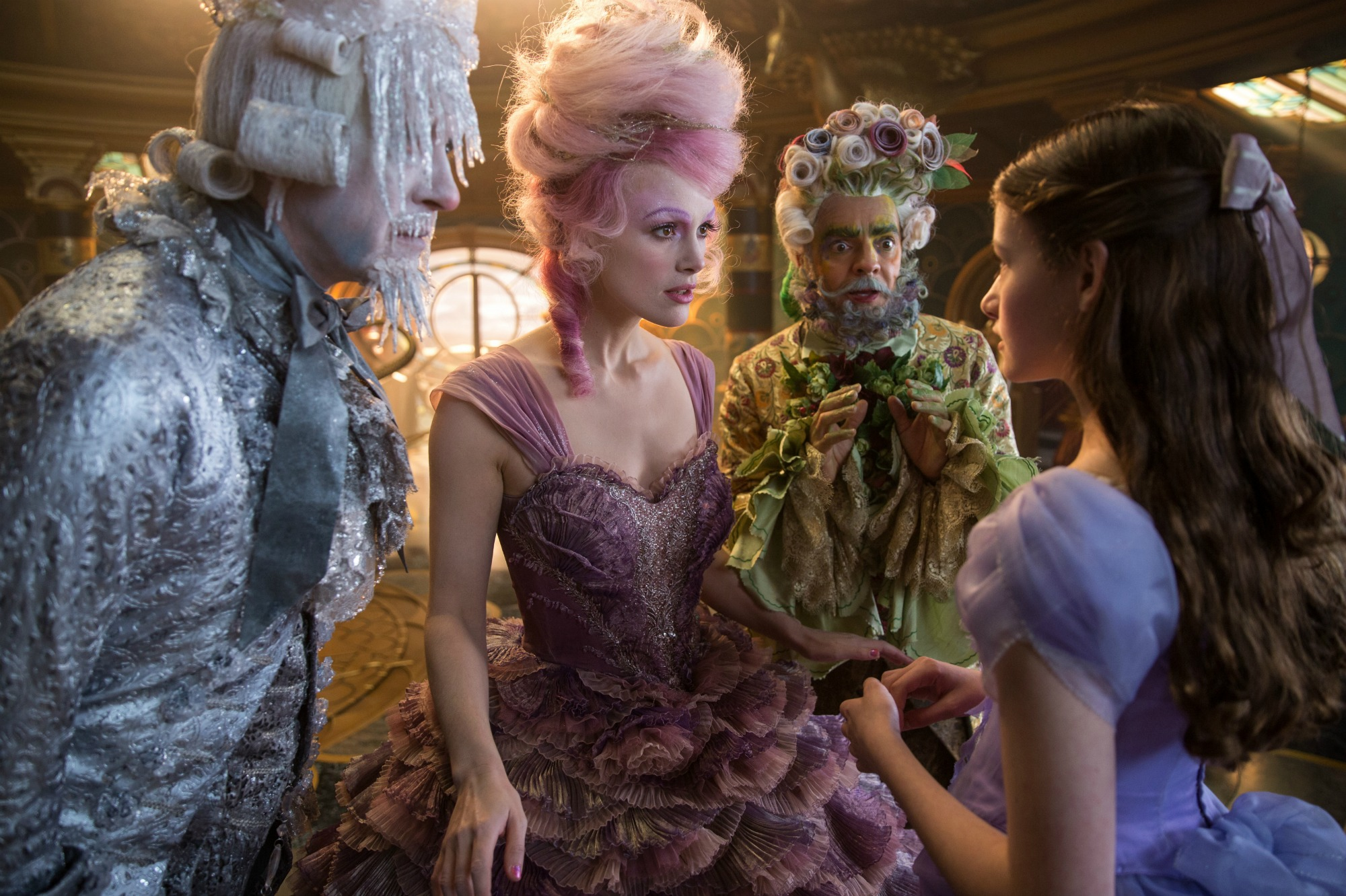 THE NUTCRACKER AND THE FOUR REALMS opens November 2nd