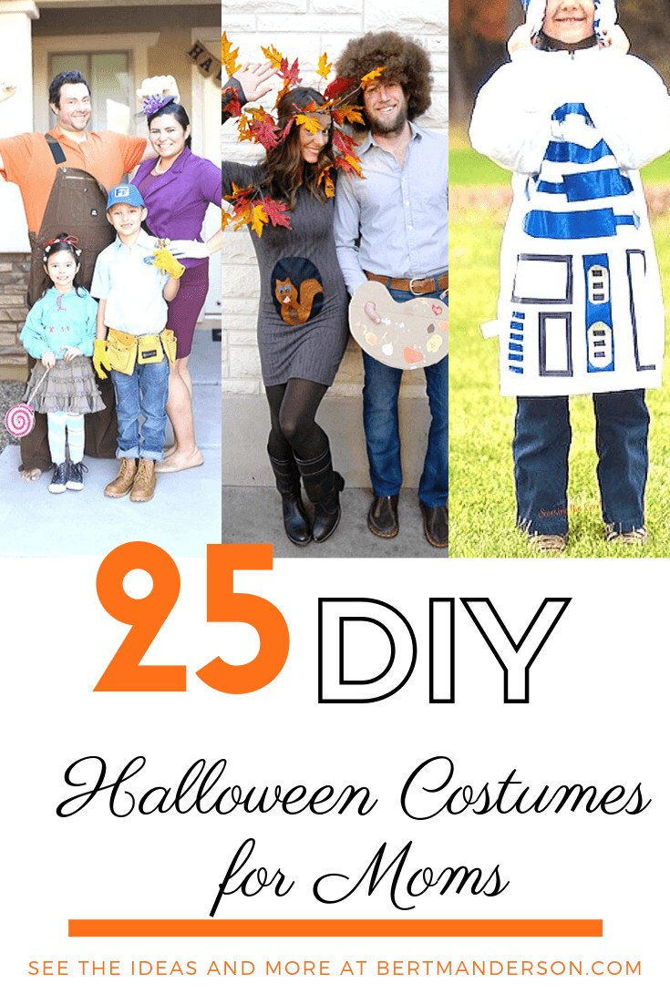 25 DIY Halloween Costumes for Moms. #halloween #costumes #diycostumes #moms #halloweencostumes