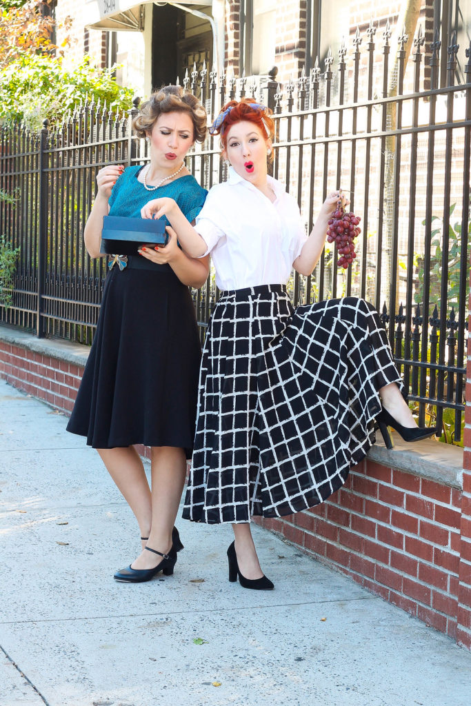 Lucy and Ethel costumes Halloween costumes for moms