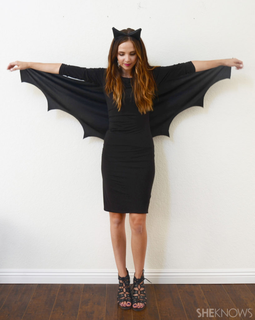 Bat Easy Halloween Costume for mom