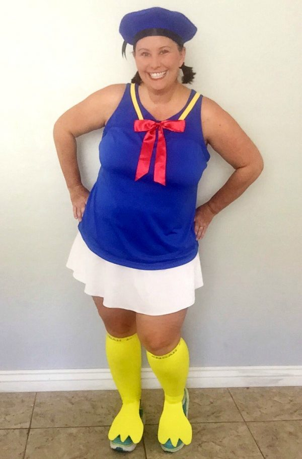 Donald Duck Halloween Costume for mom