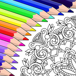 Colorfy App to help relieve stress