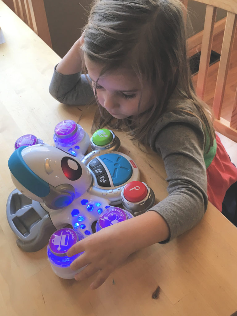 Think & Play Rocktopus teaches kids about math and music.