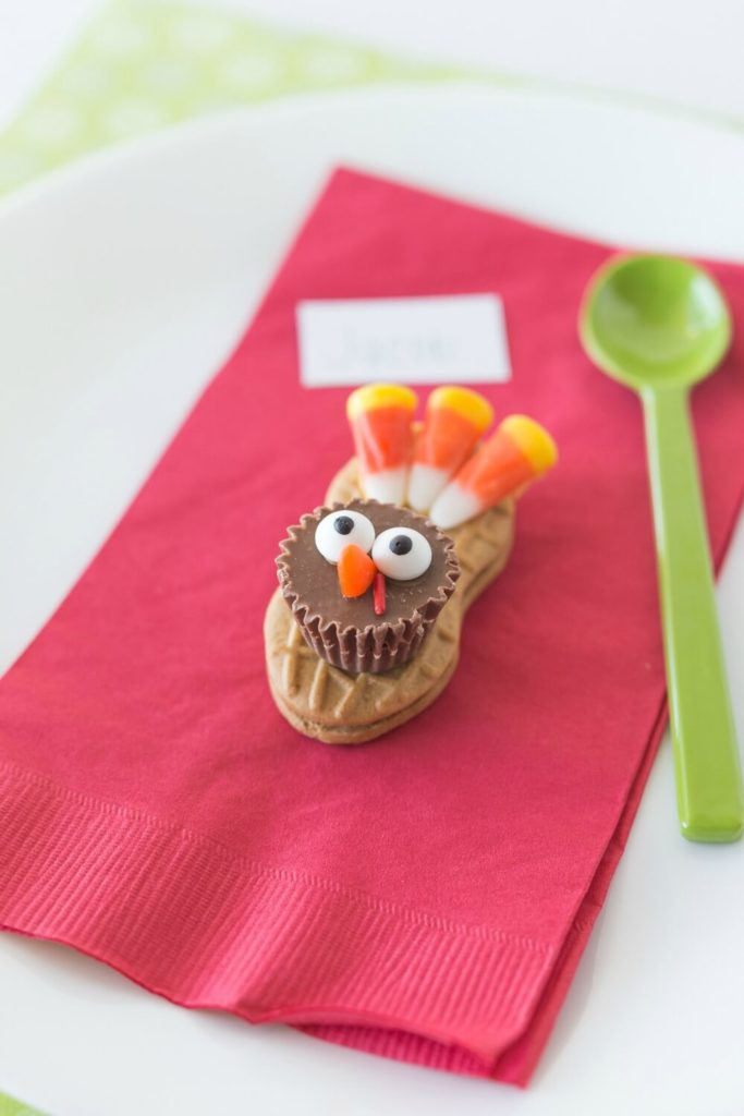 Nutter Butter Turkey Cookies for Thanksgiving