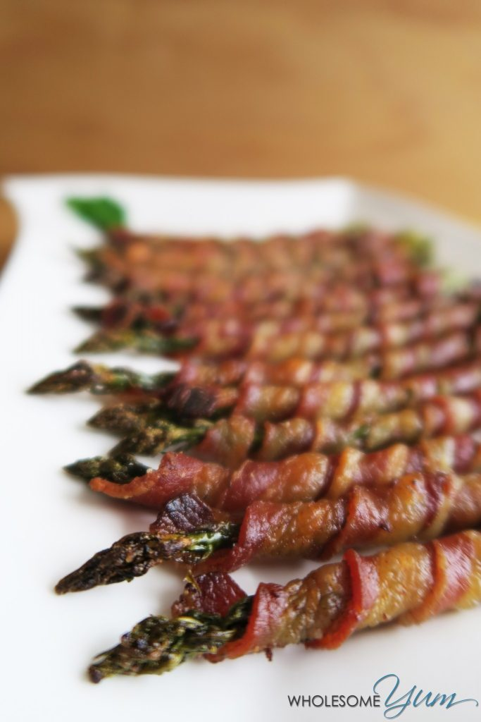 Bacon Wrapped Asparagus Low Carb Appetizers