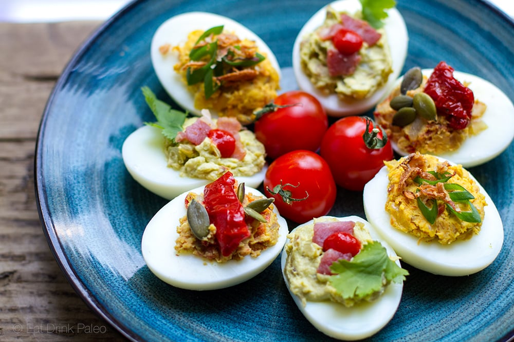 Devilled Eggs Low Carb Easter Appetizers
