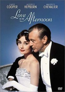 romantic comedies Love in the Afternoon