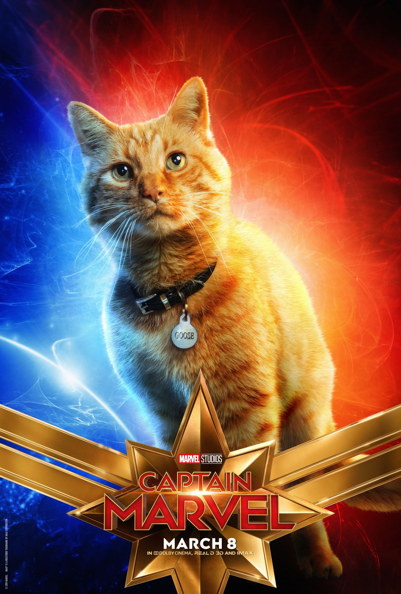 Goose the Cat CAPTAIN MARVEL