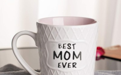 Coffee Mugs for Moms: The Best Part of Waking Up is Coffee in these Cups