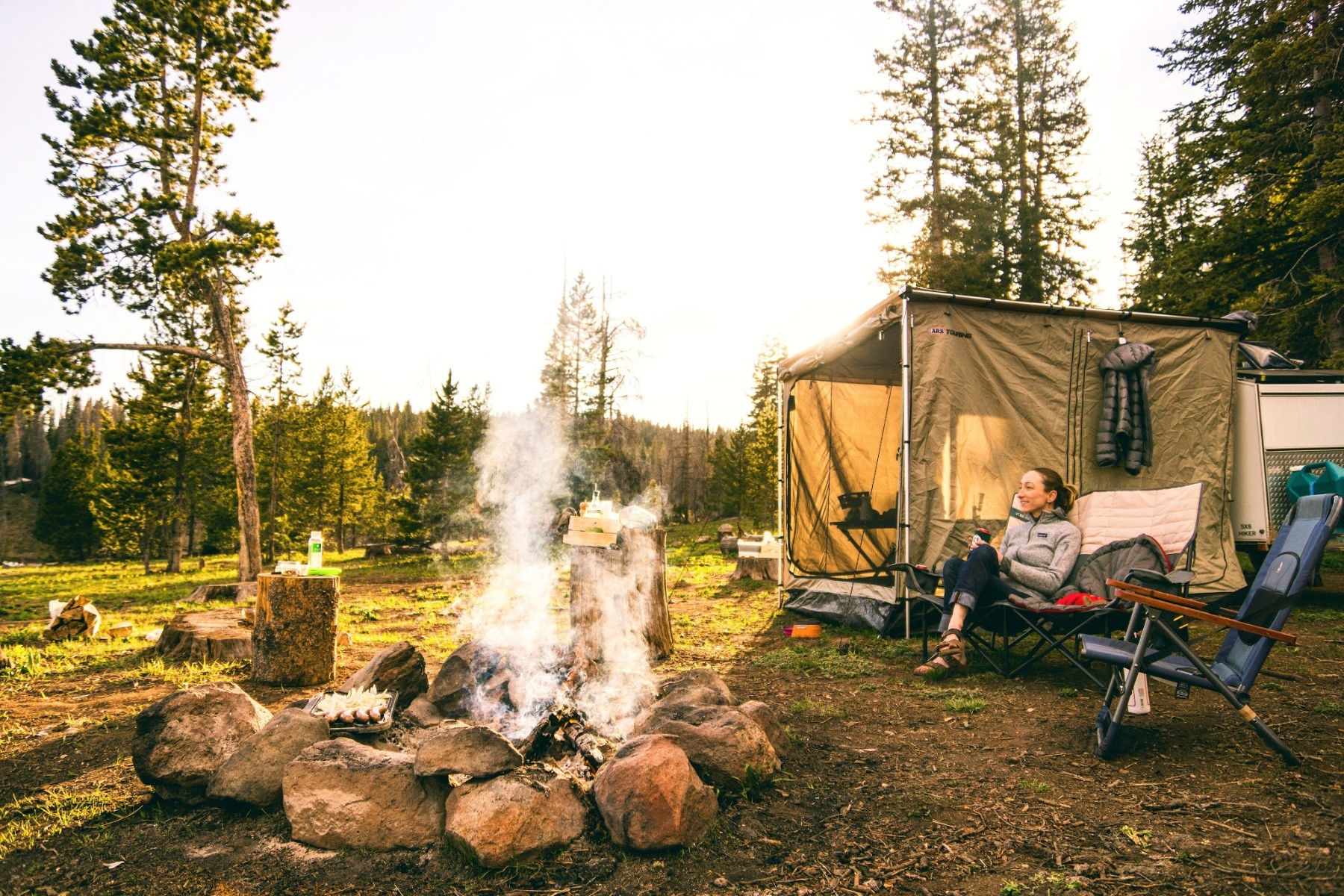 Camping Romantic Getaway on a budget