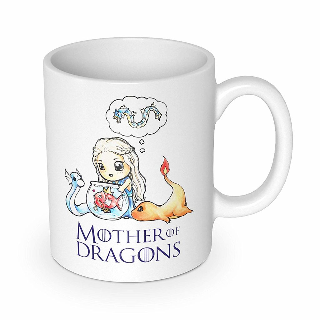 Mother of Dragons mom coffee mug