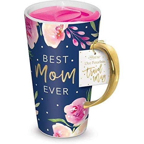 World's Best Mom Mug floral