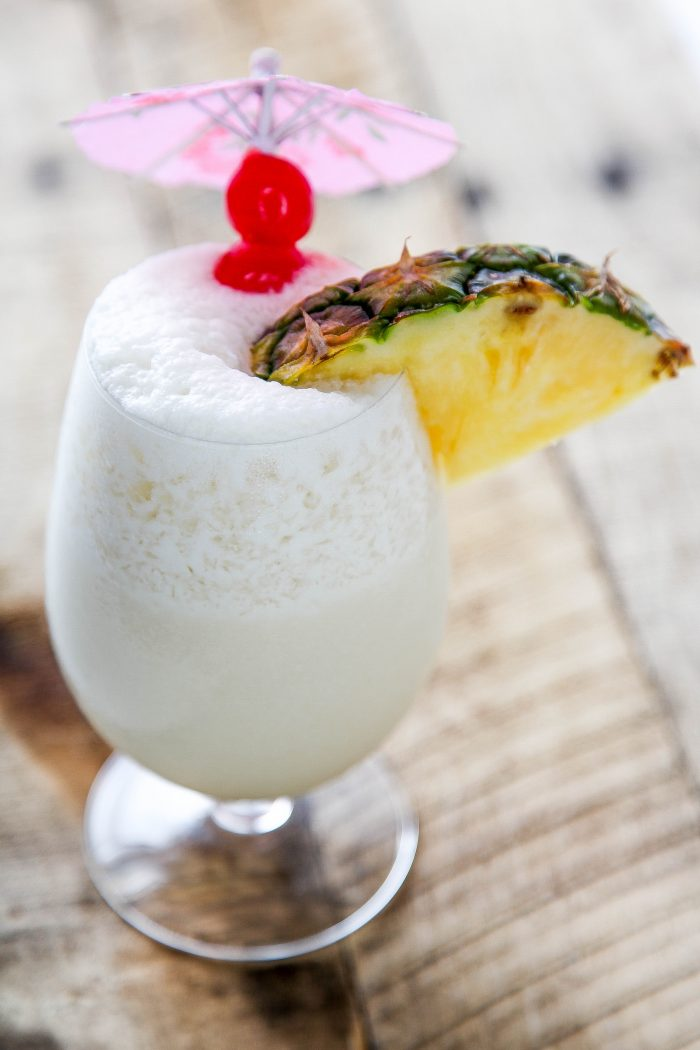 Frozen Pina Colada summer drink recipe