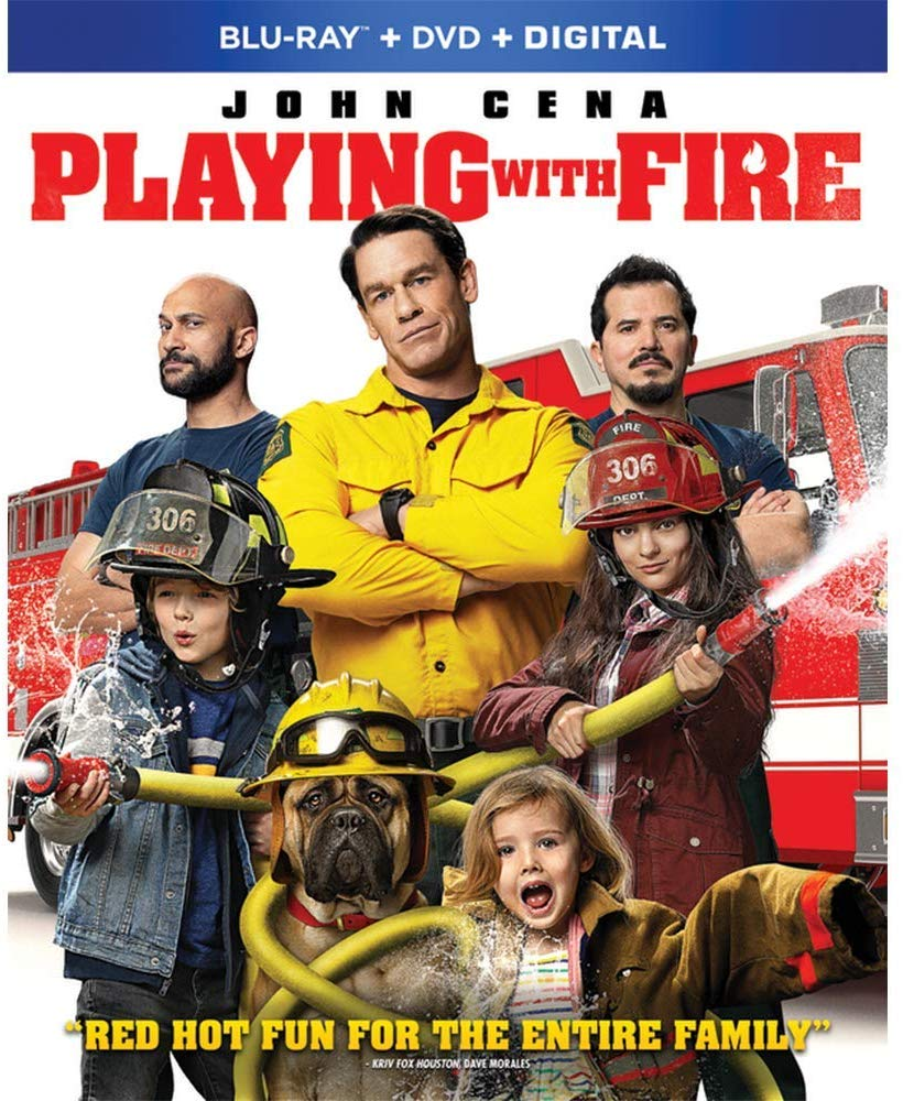 Playing with Fire on Blu-ray/DVD