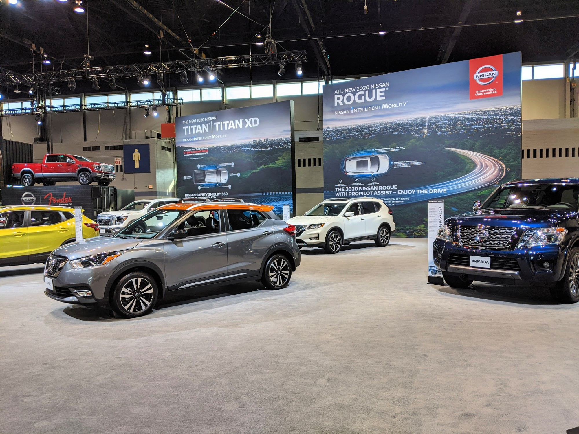 Nissan at Chicago Auto Show 2020
